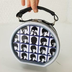 The Beatles metal drum mini tote/stash tin